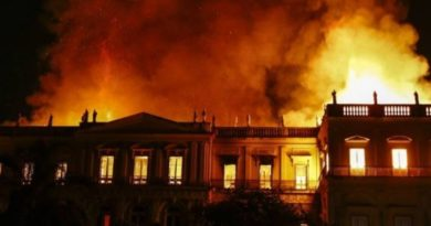 brazil national museum destroyed in fire